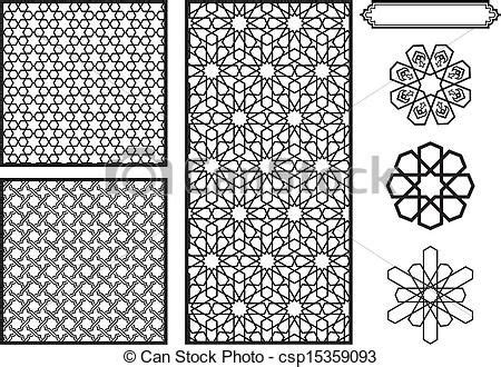 simple islamic pattern vector how to draw simple islamic patterns google search