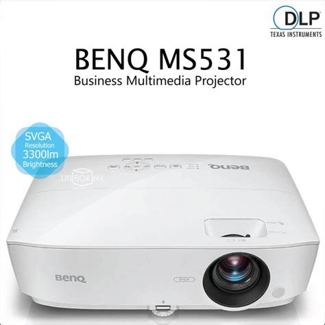 Proyektor Benq Mx532 projectors unbox my