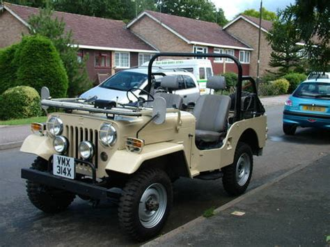 mitsubishi jeep for sale mitsubishi jeep sold 1981 on car and uk c38008