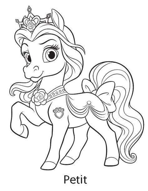 coloring pages palace pets free coloring pages of palace pets bloom