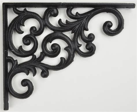 cast iron wall bracket cast iron shelf brackets bq decorative shelf