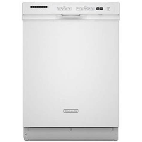 kitchenaid built in dishwasher kuds30ivwh kuds30ivbl