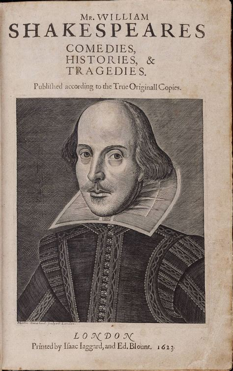 William Shakespeare by Folio