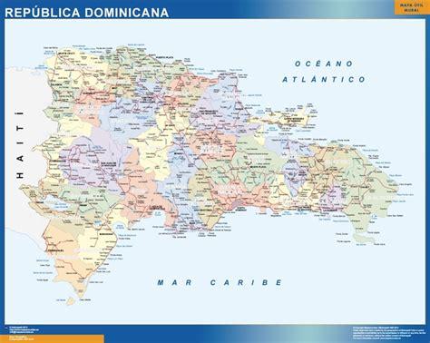 imagenes satelitales republica dominicana mapa rep 250 blica dominicana mapas posters mundo y espa 241 a