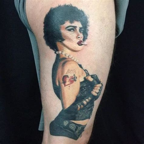 rocky horror picture show tattoo 70 best comedy horror tattoos images on comedy