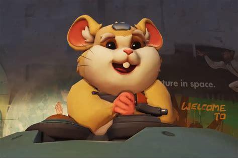 overwatchs  hero  hammond  chubby hamster polygon