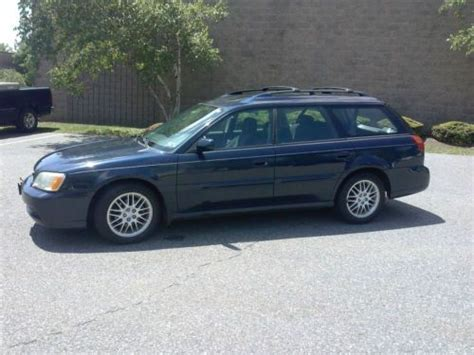 how to fix cars 2003 subaru outback electronic toll collection purchase used 2003 subaru outback wagon awd automatic in glenolden pennsylvania united states