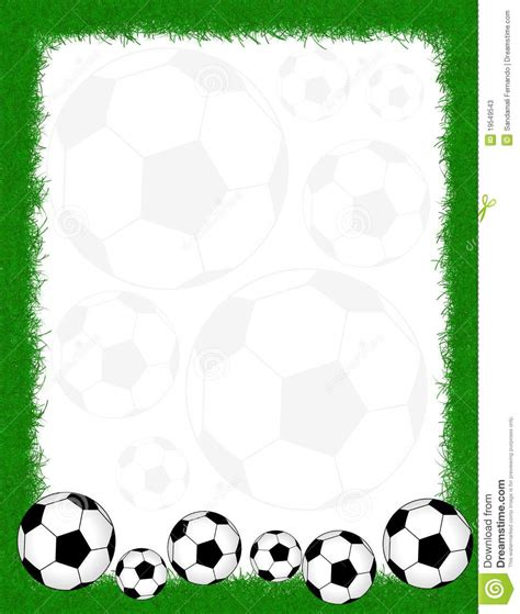 Frame Soccer football borders and frames clipart panda free clipart