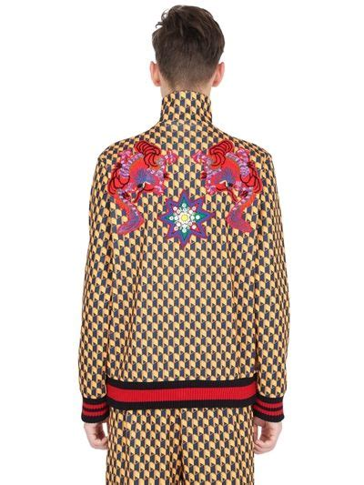 Jaket Printing Bomber 047 Dan Hoodie 047 gucci men s embroidered geometric print teddy bomber jacket in yellow and navy in yellow graphic