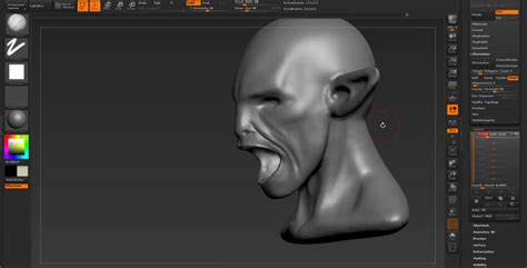 zbrush mouth tutorial zbrush creature mouth next step after dynamesh
