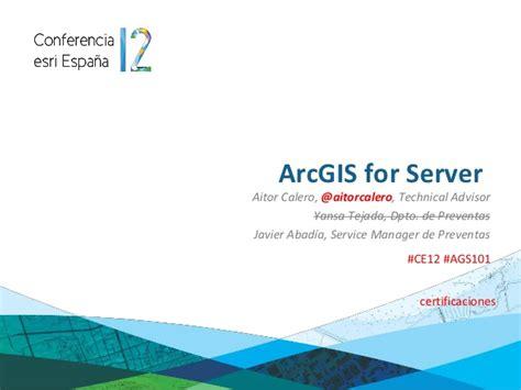 thesis advisor en español arcgis for server conferencia esri espa 241 a 2012