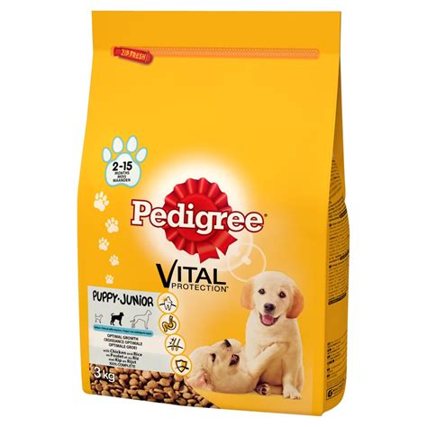 pedigree puppy chow pedigree puppy vital protection food ebay
