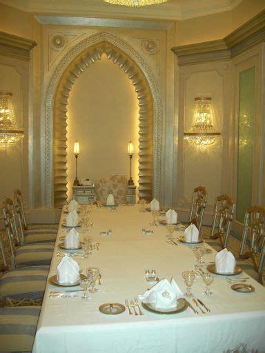 verzierung kleines hauptschlafzimmer emirates palace hotel abu dhabi vereinigte arabische emirate