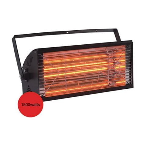 Patio Infrared Heaters 1500wat Electric Infrared Halogen Outdoor Patio Heater