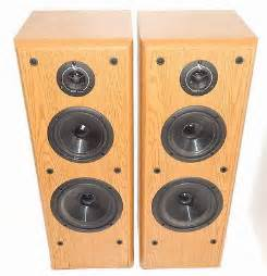 Infinity Rs3a Speakers Vintage Infinity Crescendo Series Cs 3007 Floorstanding