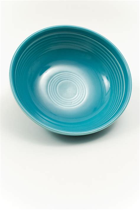 Turquoise For Sale by Vintage Turquoise Individual Salad Bowl For Sale