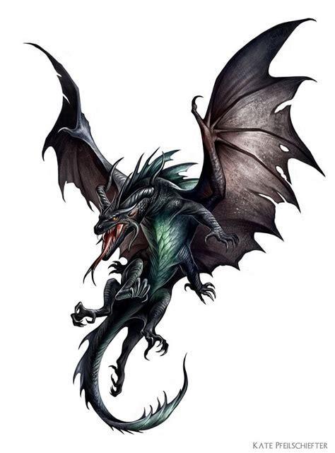 pathfinder tattoo half black half basilisk creature painted for