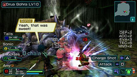 phantasy portable 2 infinity gameplay sega phantasy universe