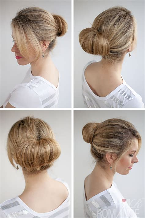 different hairstyles in buns 30 buns in 30 days day 1 the flip bun hair romance