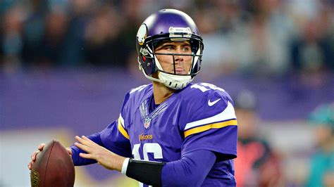 Mat Cassel by Vikings At Home In And With Matt Cassel