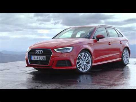 Audi A3 Sportback Facelift by 2016 Audi A3 Sportback Facelift Footage Youtube