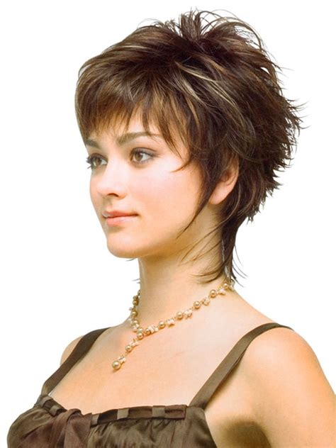 fine hair better longer or short love this short shag for whitney pinterest short