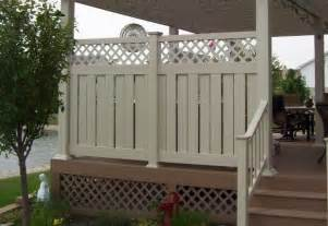 deck privacy screen deck and railing ideas