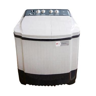 Mesin Cuci Lg Front Loading 8 Kg jual lg tub washer p800n mesin cuci putih 8 kg