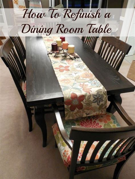 how to refinish a dining room table 1000 ideas about refinish dining tables on pinterest