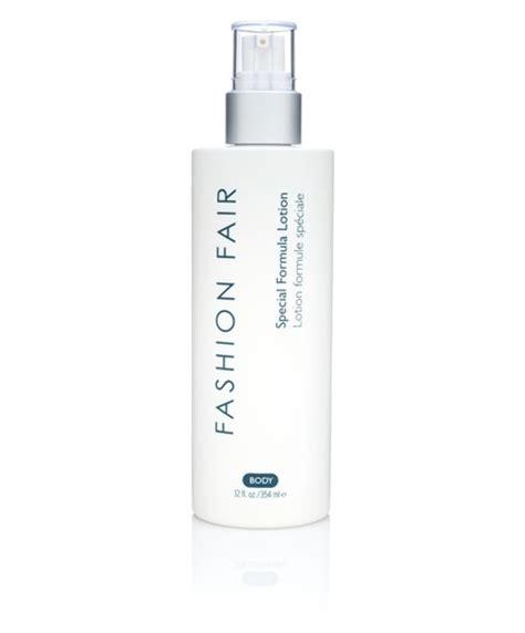 fashion fair skincare secrets special formula lotion