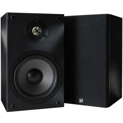 dayton audio b652 hifi bookshelf speaker 6 ohms pair