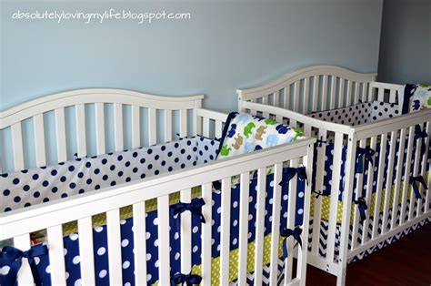 Diy Crib Bumpers by Loving Diy No Sew Crib Bumper