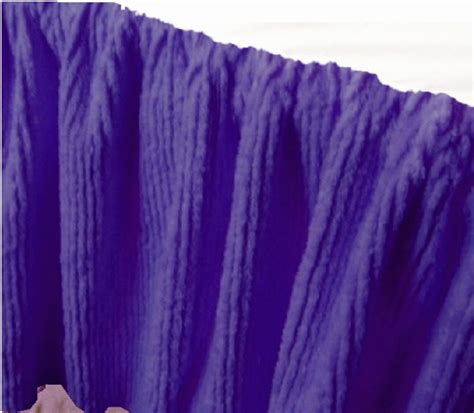 purple bed skirt dark purple chenille bedskirt in twin full queen