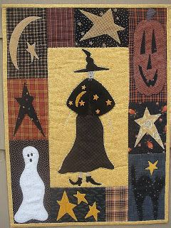 pumpkin patch primitives quilt shoppe the witch is in