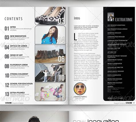 33 Ready To Print Premium Magazine Templates Naldz Graphics Indesign 5 5 Templates