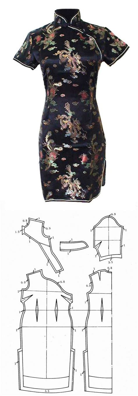 pattern chinese dress 24 best images about sewing tutorial costume