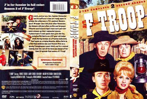 I Cover F by F Troop Season 2 Tv Dvd Scanned Covers F Troop Season