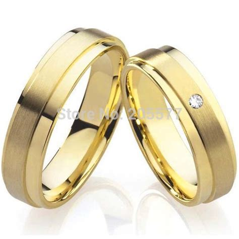Wedding Gold Rings For Couples   Wedding, Promise, Diamond