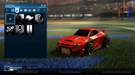 vote on r rocketleague s custom car rocket trail rocketleague