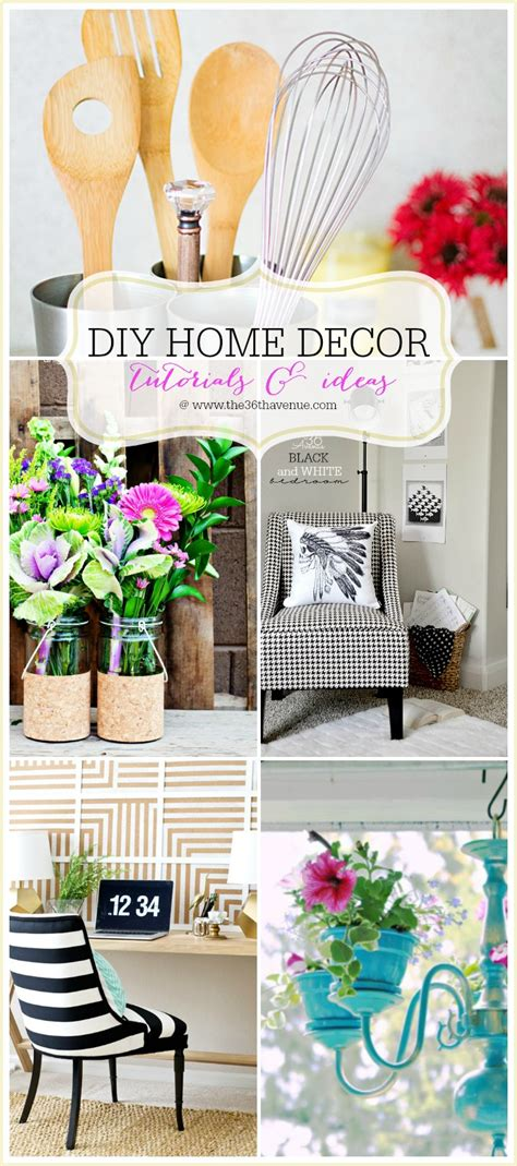 easy diy home decor projects home decor diy projects the 36th avenue