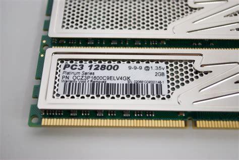 Ram Ocz ocz elv platinum ddr3 1600 4gb ram kit techwarelabs