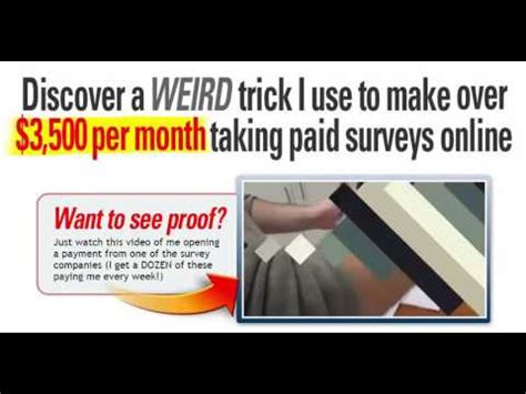 Survey Websites To Earn Money - survey money best survey sites to make money youtube