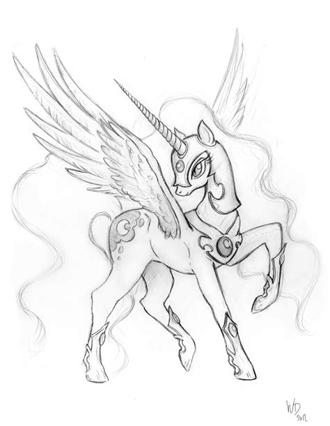 my little pony coloring pages nightmare moon nightmare moon sketch by royallycrimson on deviantart