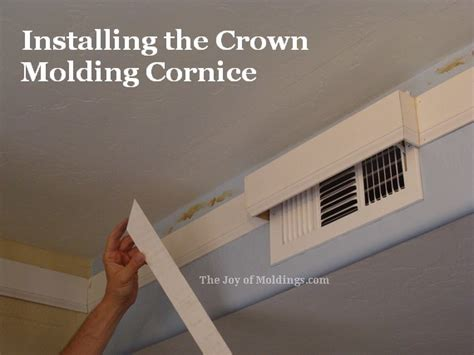 how to install crown molding on top of kitchen cabinets kitchen crown molding installation cornice molding the