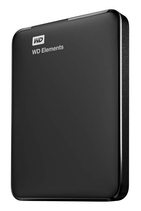 Harddisk Wdc western digital wd elements portable 2000gb black external