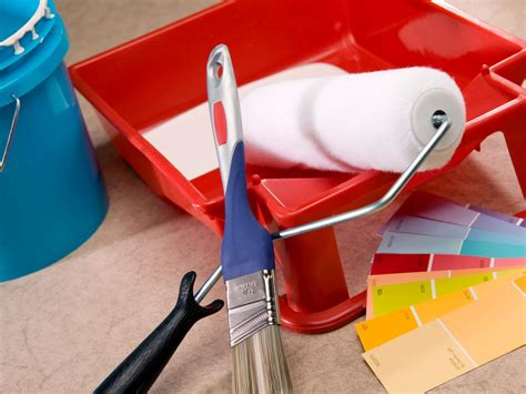 Painting Supplies by Glossy Accents Redefine A Home Hgtv