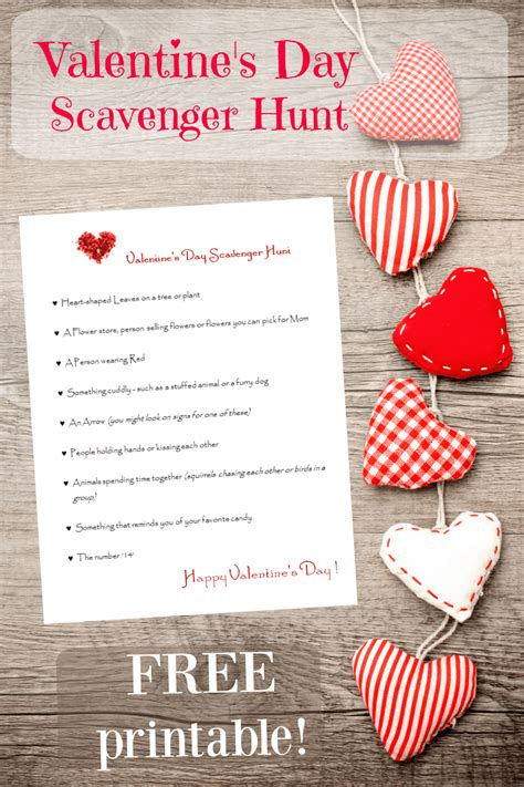valentines day to do printable cards for edventures with