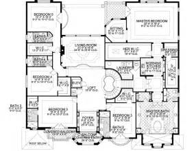 7 bedroom floor plans florida style house plans 7883 square foot home 2