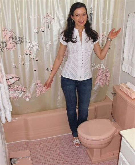 save the pink bathroom bathrooms that are pink and gray