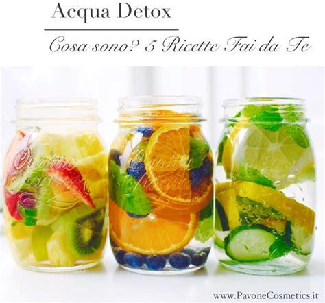 Il Detox by Acqua Detox Cos 232 Come Prepararla 5 Semplici Ricette